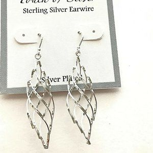 Touch Of Silver Earrings Sterling Silver Earrings